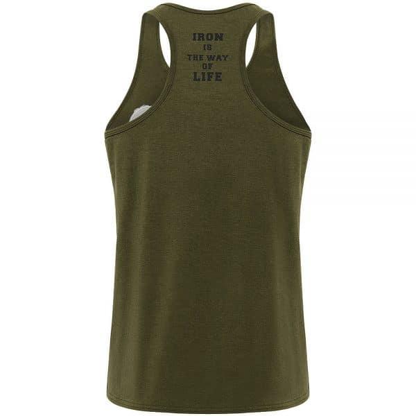 Muscle Fit Vest - Olive