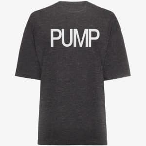 PUMP IRON Oversized T-Shirt - Grey