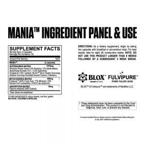 MyoBlox Mania Testosterone Booster