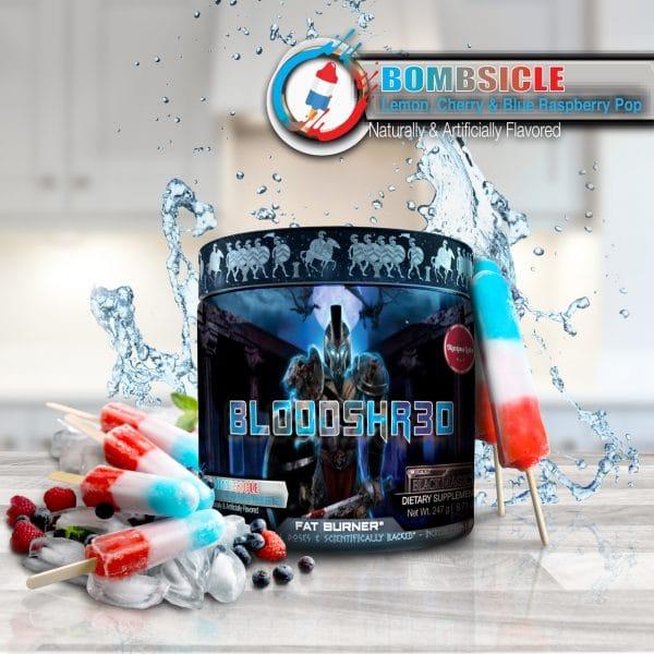 Olympus Labs Bloodshr3d (Black Magic) Fat Burner - Bombsicle