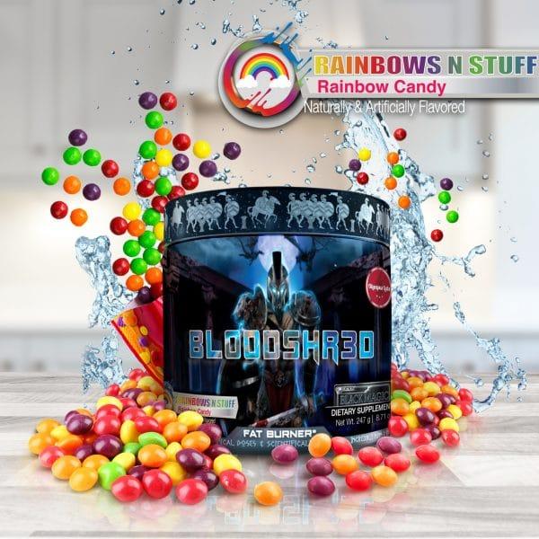 Olympus Labs Bloodshr3d (Black Magic) Fat Burner - Rainbows n Stuff