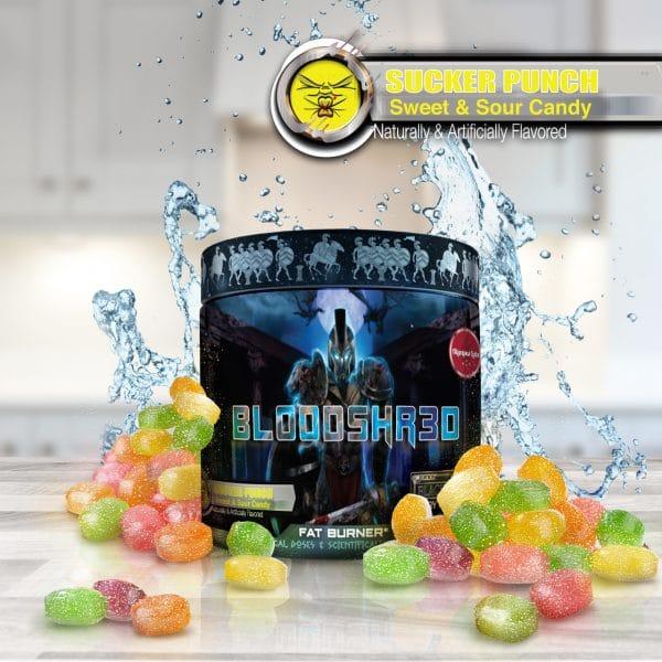 Olympus Labs Bloodshr3d (Black Magic) Fat Burner - Sucker Punch