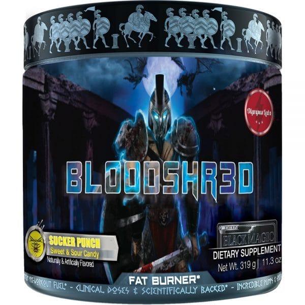 Olympus Labs Bloodshr3d - Black Magic Edition Fat Burner (Sucker Punch)