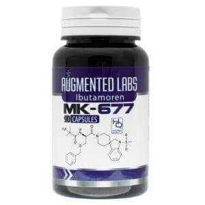 Augmented Labs MK-677 (Ibutamoren) 10mg x 90 Capsules