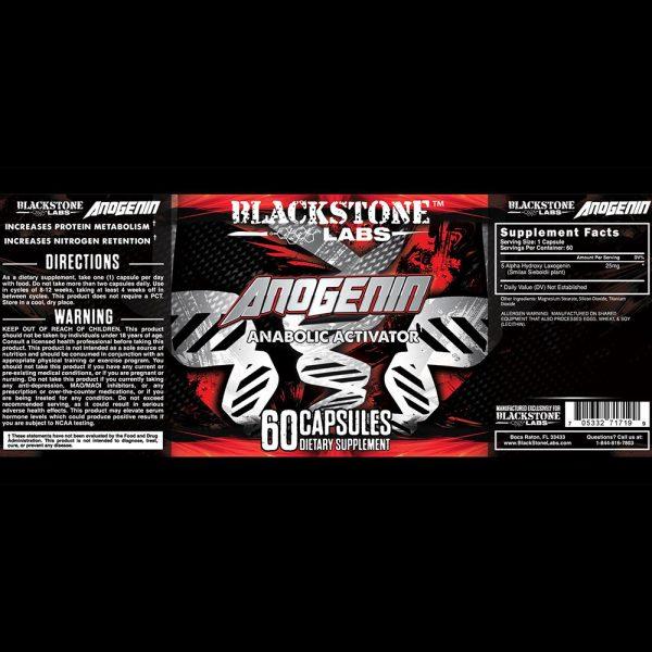 Blackstone Labs Anogenin Laxogenin Natural Muscle Builder