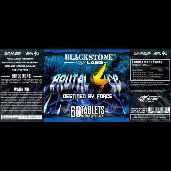 Blackstone Labs Brutal 4CE Prohormone