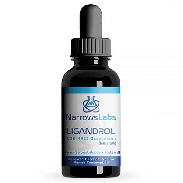 Narrows Labs LGD-4033 Suspension 10mg/ml