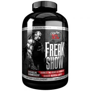 rich piana 5 percent nutrition freak show insulin mimicker glucose disposal agent