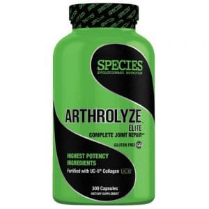 species nutrition arthrolyze elite complete joint repair front