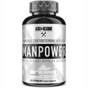 Axe & Sledge ManPower Testosterone Booster
