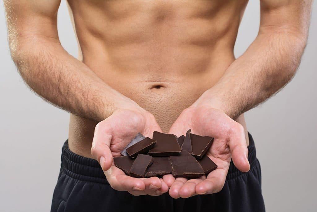 bodybuilder dark chocolate epicatechin laxogenin