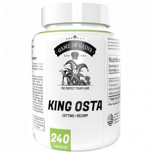 Game of Gains King Osta (Ostarine) 5mg x 240