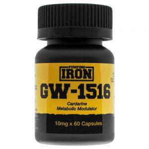 Pumping Iron Cardarine (GW-501516) 10mg x 60 Capsules