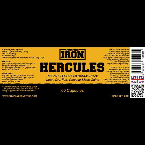 Pumping Iron Hercules (MK-677/LGD-3303)