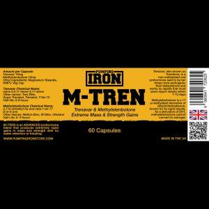 Pumping Iron M-Tren 10mg x 60 Capsules