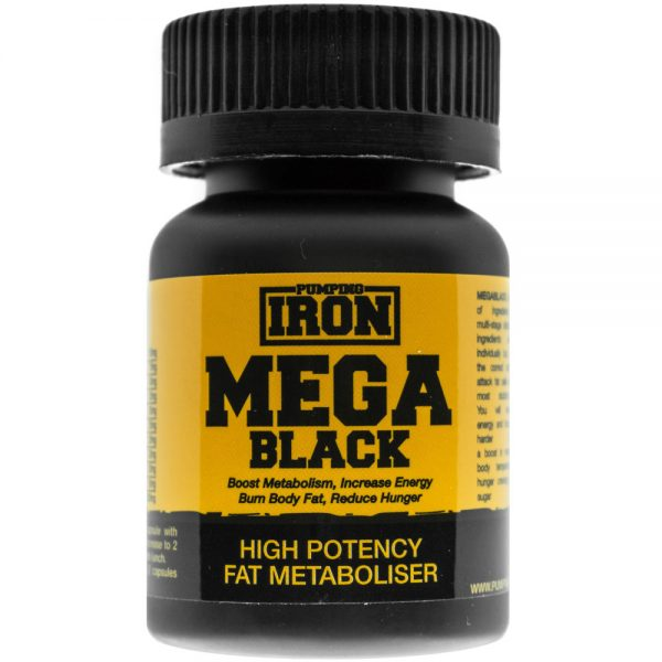 Pumping Iron MegaBlack Fat Burner