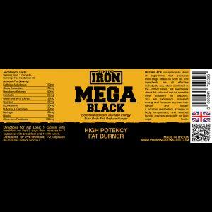 Pumping Iron MegaBlack Fat Burner