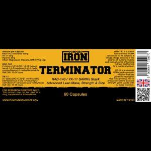 Pumping Iron Terminator (RAD-140/YK-11)