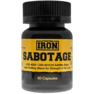 Pumping Iron Sabotage (LGD-4033/Cardarine)