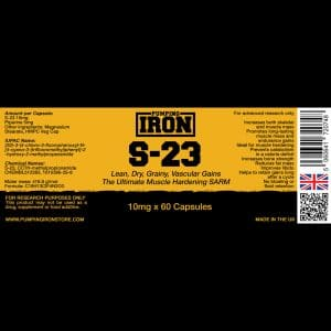 Pumping Iron S-23 - 10mg x 60