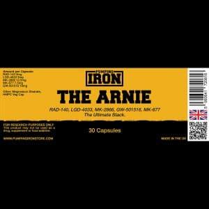 Pumping Iron Arnie(RAD-140/LGD-4033/MK-2866/MK-677/GW-501516)