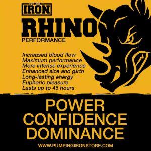Pumping Iron Rhino