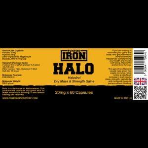 Pumping Iron Halo - 20mg x 60