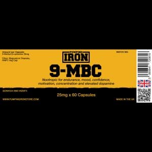 Pumping Iron 9-MBC - 25mg