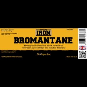Pumping Iron Bromantane 25mg