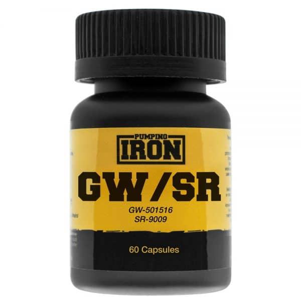 Pumping Iron GW/SR (Cardarine/Stenabolic) SARMs Blend