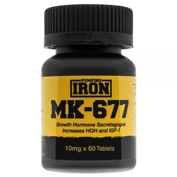 Pumping Iron MK-677 (Ibutamoren) 10mg x 60 Tablets