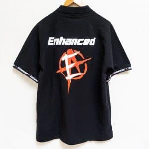 Enhanced Labs Polo Shirt Black